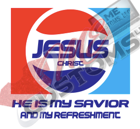 Jesus Pepsi - ME Customs, LLC