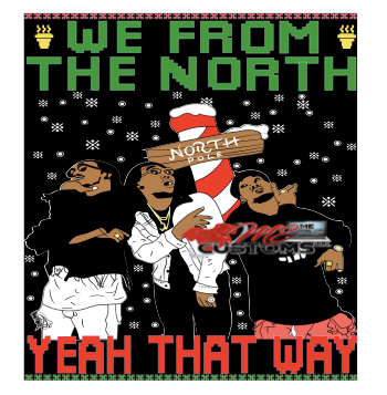 We From the North (Christmas Sweater) Inspired - ME Customs, LLC