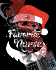 Santa Fav Nurse - ME Customs, LLC