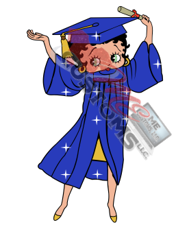 Graduation Betty (Inspired) - ME Customs, LLC