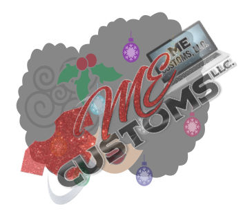 Christmas Afro Chic - ME Customs, LLC