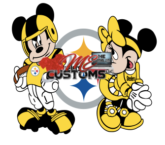 Same Team Minnie/Mickey - ME Customs, LLC