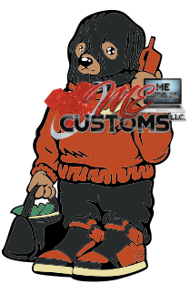 Secure the Bag Bear - ME Customs, LLC