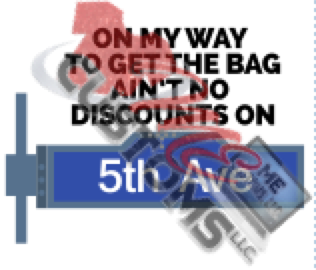 On My Way To Get The Bag (SVG/PNG) - ME Customs, LLC