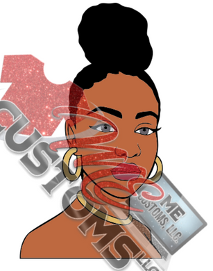 Woman 6 (SVG) - ME Customs, LLC