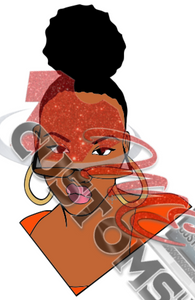 Woman 5 (SVG) - ME Customs, LLC