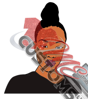Woman 2 (SVG) - ME Customs, LLC