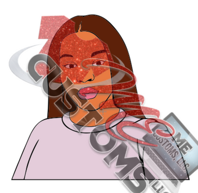 Woman 1 (SVG) - ME Customs, LLC