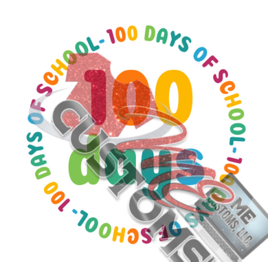 100 Days (SVG/PNG)