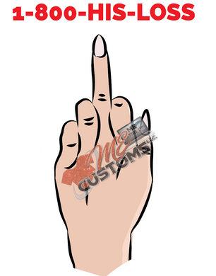 1-800-His-Loss (SVG/PNG) - ME Customs, LLC