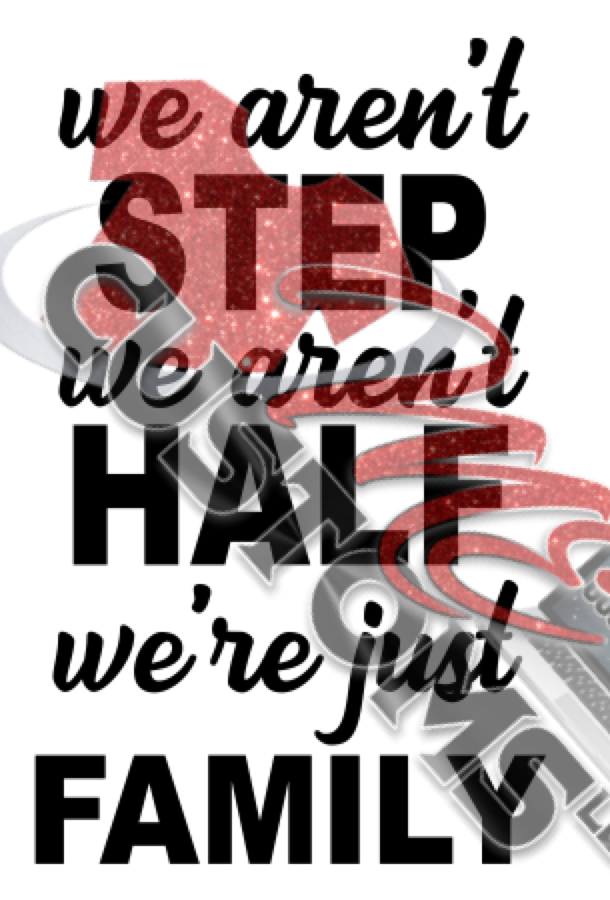 We Are Family Not Step or Half (SVG) - ME Customs, LLC