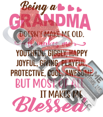 A Blessed Grandma (SVG)