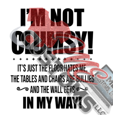 Im Not Clumsy (SVG)