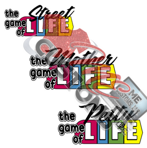 The Game of Life (SVG/PNG) - ME Customs, LLC