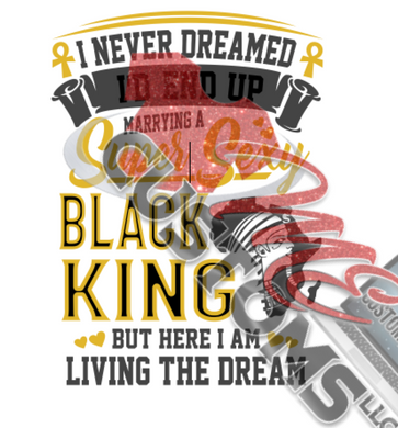 Married to Black King (SVG) - ME Customs, LLC
