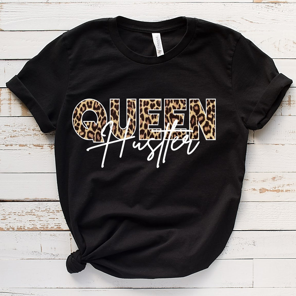 Queen Hustler...(IRON ON SCREEN PRINT TRANSFER) - ME Customs, LLC
