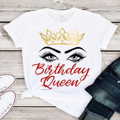 Birthday Queen (Iron On Transfer Sheet Only) - ME Customs, LLC