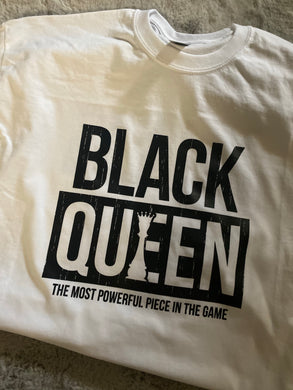Black Queen {BLACK Text} (Iron On Transfer Sheet Only) - ME Customs, LLC