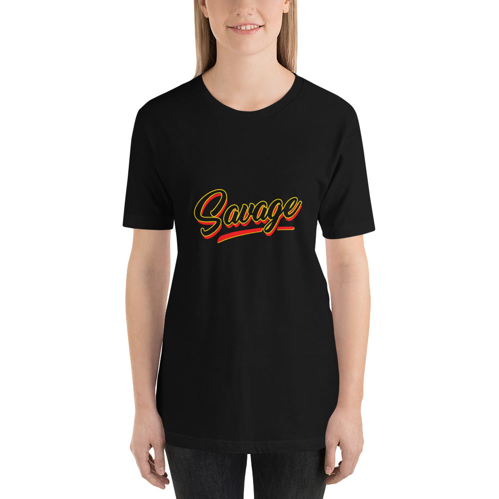 Savage Short-Sleeve Unisex T-Shirt - ME Customs, LLC
