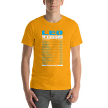 Load image into Gallery viewer, LEO Facts Short-Sleeve Unisex T-Shirt - ME Customs, LLC