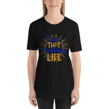 Load image into Gallery viewer, Living That Mustang  Life Short-Sleeve Unisex T-Shirt - ME Customs, LLC