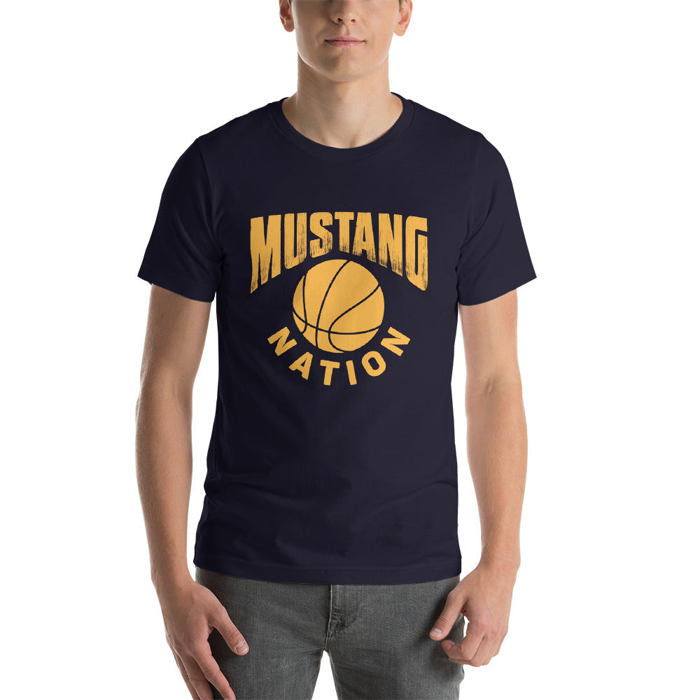Mustang Nation Short-Sleeve Unisex T-Shirt - ME Customs, LLC