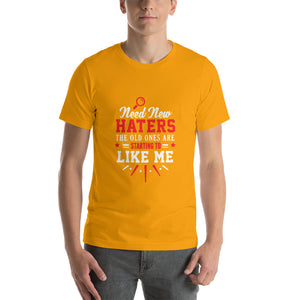 Need New Haters Short-Sleeve Unisex T-Shirt - ME Customs, LLC