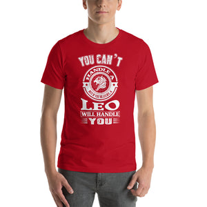 You Can't Handle Short-Sleeve Unisex T-Shirt - ME Customs, LLC