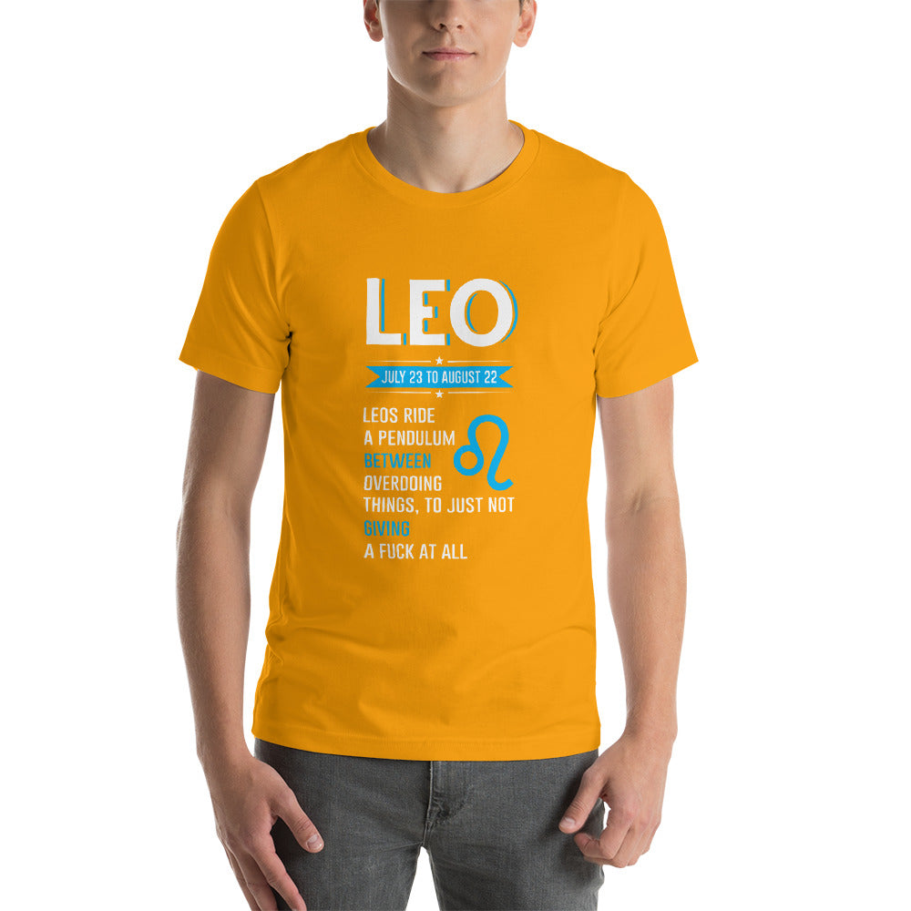 LEO Short-Sleeve Unisex T-Shirt - ME Customs, LLC