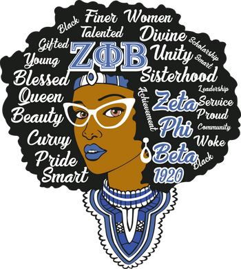 Queen with Words (Sorority Inspired-Screen Print TRANSFER) - ME Customs, LLC