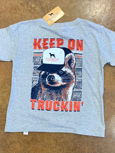 Straight Up Southern-Truckin Raccoon (Y)