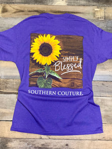 Couture-Simply Blessed Sunflower