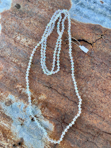 Wrap Necklace-Clear