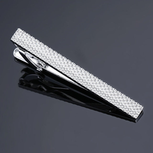 High quality laser engraved tie clip