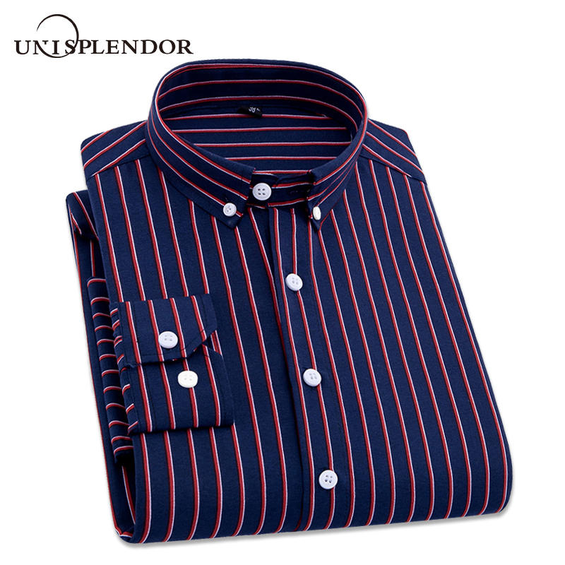 Striped Long Sleeved Shirts to 4XL