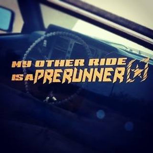 """My Other Ride"" Decal"