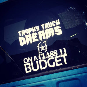 """Trophy Truck Dreams"" Vinyl"