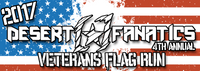 Veterans Flag Run Stickers
