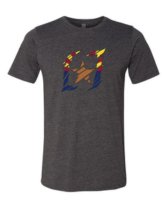 "Men's ""Shredded Arizona"" Logo T-Shirt"