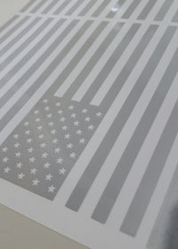 Reflective Vinyl Flags