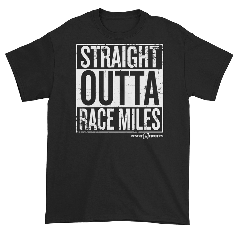 Straight Outta Race Miles - Men's Tee