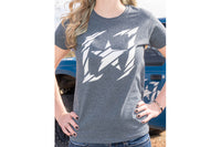 "Women's DF ""Shredded"" Logo tee"