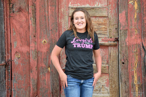 Cowgirls for Trump T-Shirt