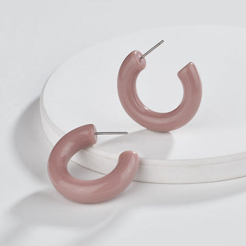 julia tube earrings