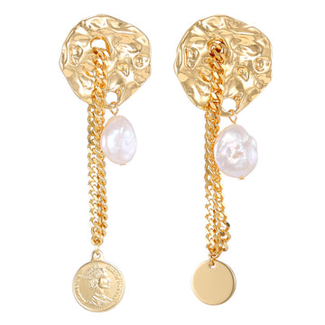 abelia drop earrings