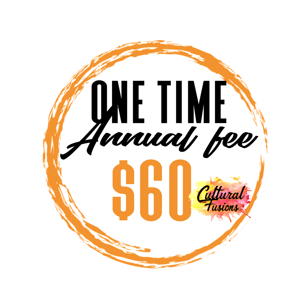 One time Annual Fee