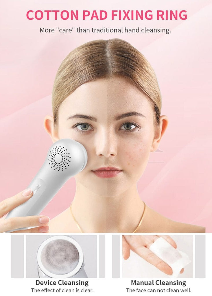 Ultrasonic Clinical Heating + Cooling Iontophoresis Anti-Aging Therapy