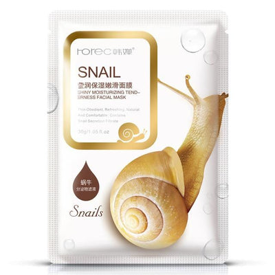 Snail Essence Facial Mask (5 pcs)