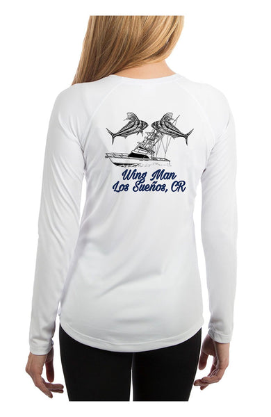 Womens Wingman Rooster L/S