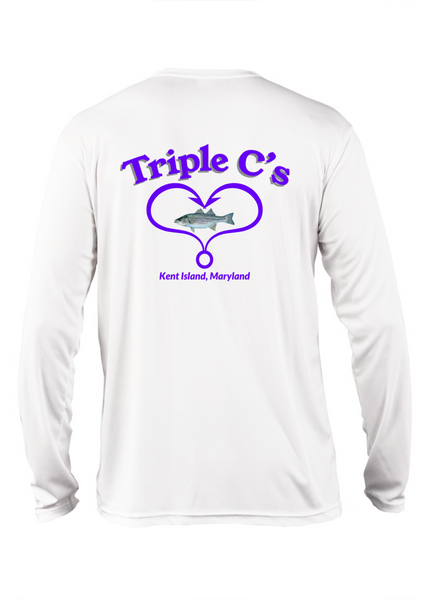 Mens Triple C's Heart L/S